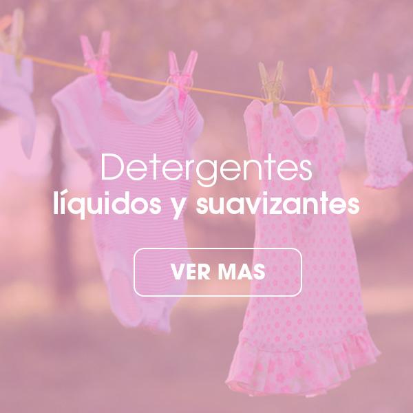 Detergentes liquidos y suavizantes