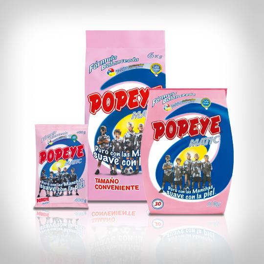 Detergente Popeye Polvo